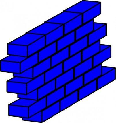 Blue Wall clip art