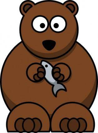 Cartoon Bear clip art