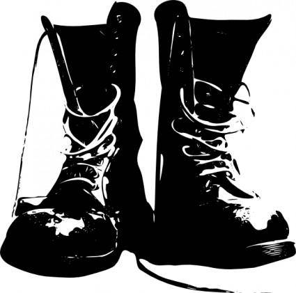 Boots Shoes Clothing clip art