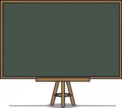 Chalk Board  clip art
