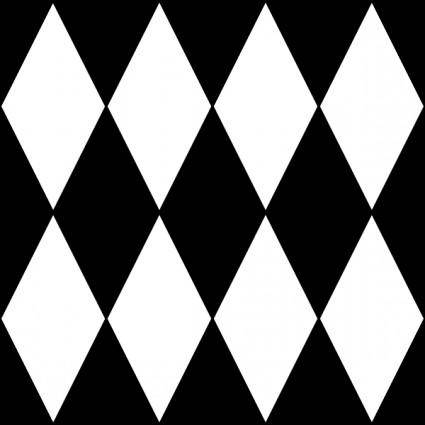 free vector Diamond Harlequin 1 Pattern clip art