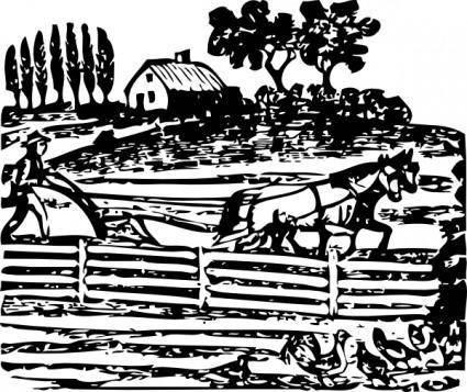 free vector Farmer clip art