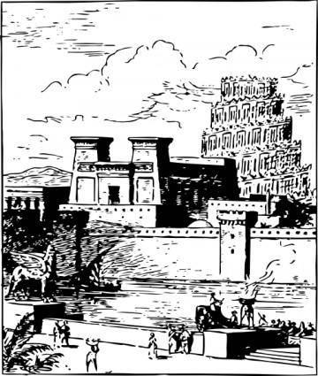 Ancient Babylon clip art