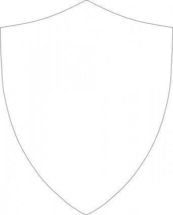 Shield Inset clip art