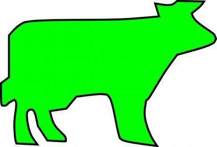 free vector Farm Animal Outline clip art