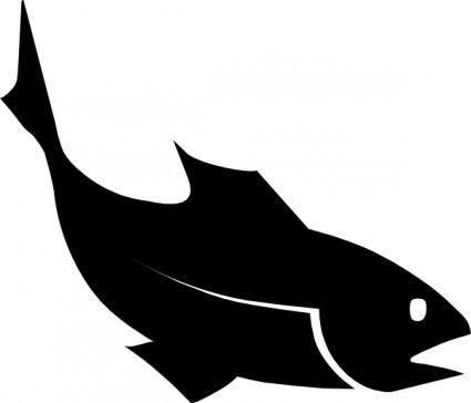 Moreno Fishblack clip art