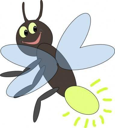 free vector Lighting Bug clip art
