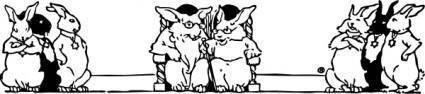 Bunny Elders clip art