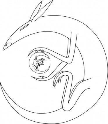 Stranger Rats clip art