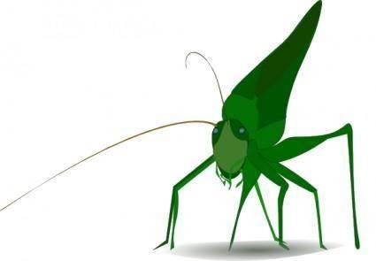 free vector Emeza Grasshopper clip art