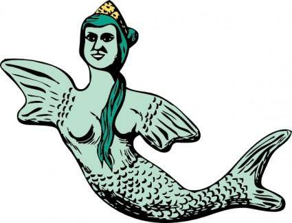 Mermaid clip art 107020