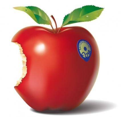 free vector Red Apple