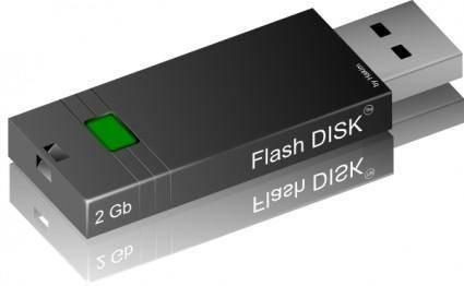 free vector Flash Drive clip art