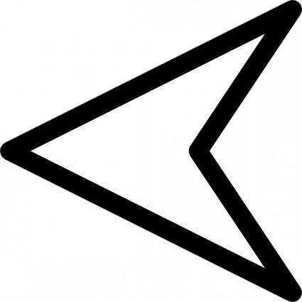 Plain Arrow clip art
