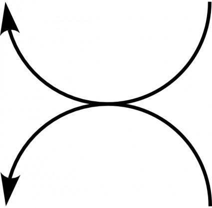 free vector Doppelt Links Arrows Left clip art