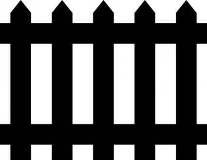 free vector Fence clip art