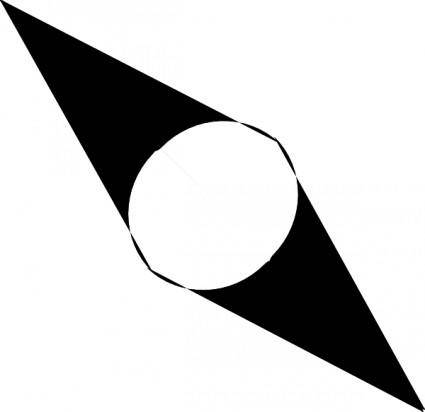 Compass Needle clip art