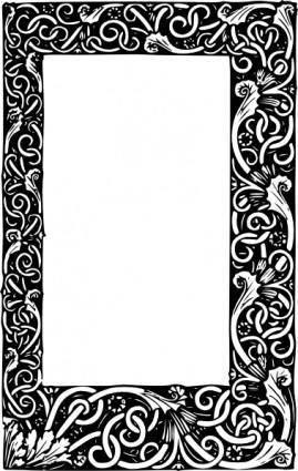 free vector Ornate Frame clip art