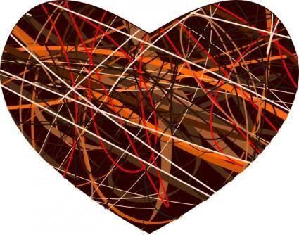Heart Raggedy clip art