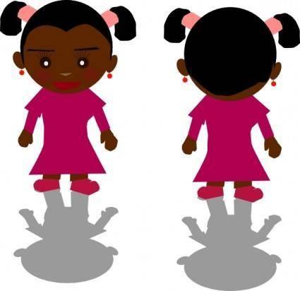 Ricardo Black Girl Png clip art