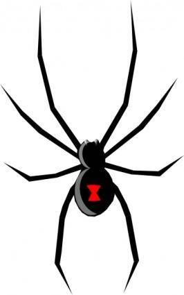 free vector Black Widow clip art