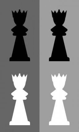 Chess Set Queen clip art