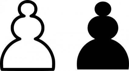 Chess Pawn clip art