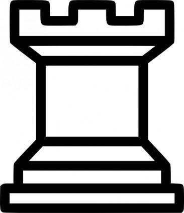 Rook Chess Piece clip art
