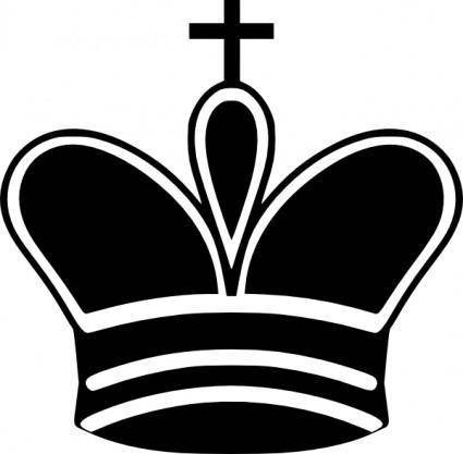Chess King Piece clip art