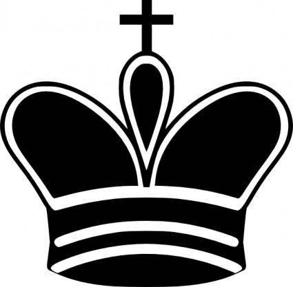 Chess King Piece clip art