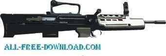 free vector L98 Gun