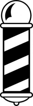 free vector Barber Shop Pole clip art