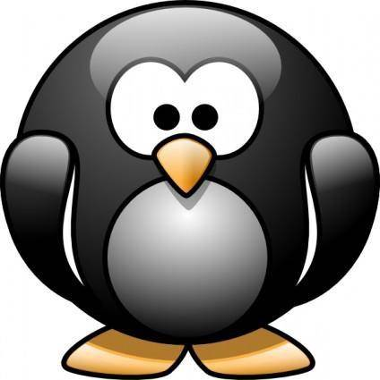 Cartoon Penguin clip art
