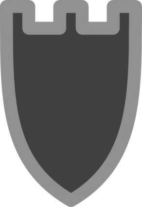 Chess Rook Black clip art