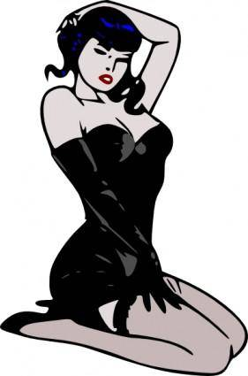 free vector Ladies Clothing clip art