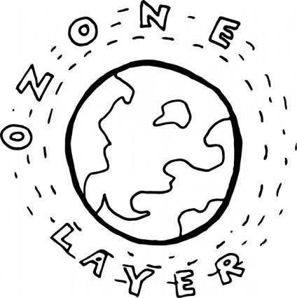 free vector Ozone Layer clip art