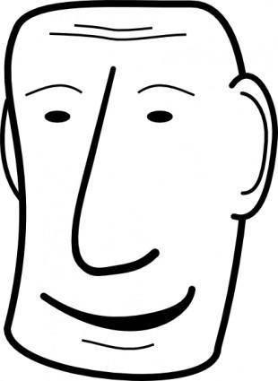 Five Minute Face clip art