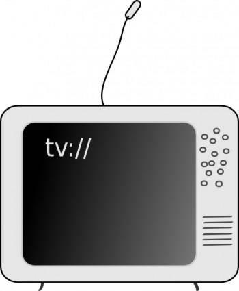 free vector Tv Television clip art