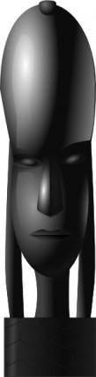 free vector African Figure clip art