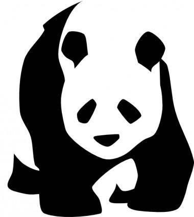 free vector Panda clip art