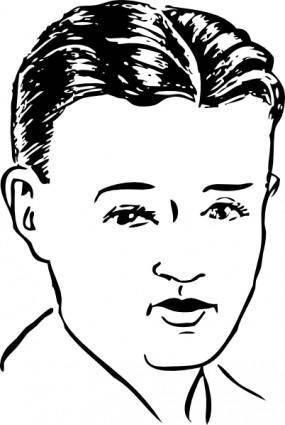 free vector Boy clip art