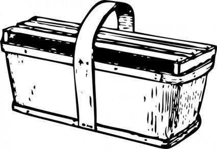 Pound Crate clip art