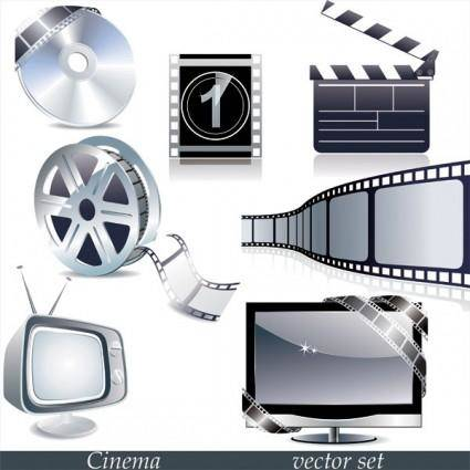 free vector Tv movie theme vector
