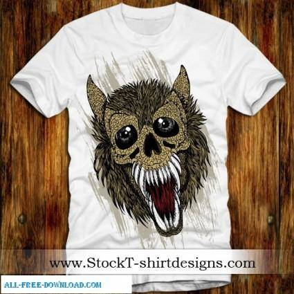Free Vector T shirt Designs 03