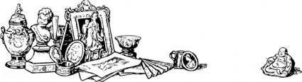 Art And Antiques clip art