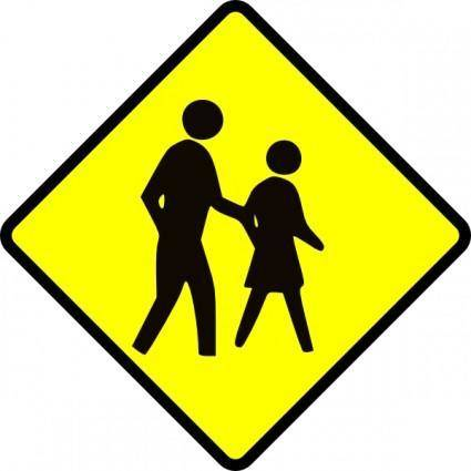 Crossing Adult clip art