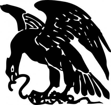 Eagle And Snake clip art