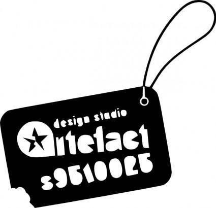 free vector Artefacts Logo clip art
