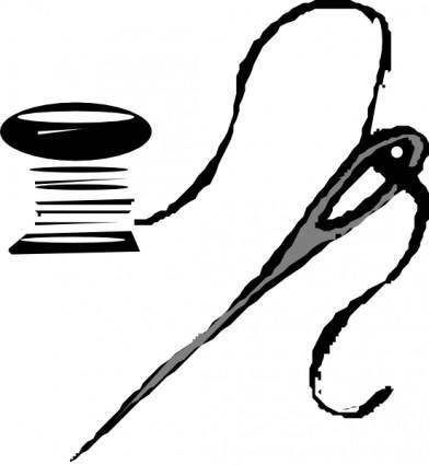Thread And Needle clip art