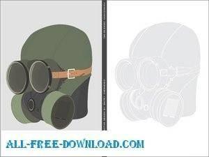 free vector Gask mask